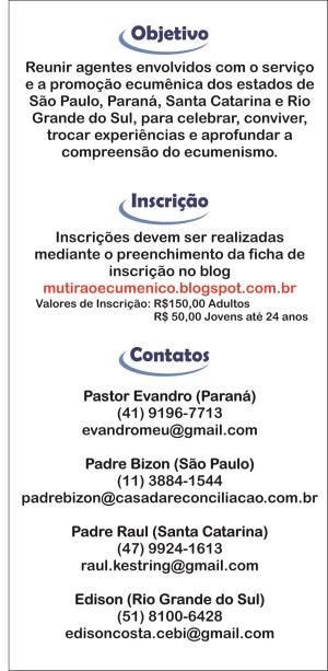 Mutirão Objetivos 2013